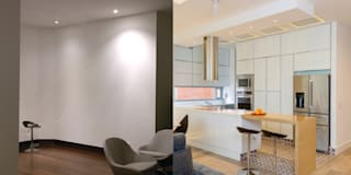 Apto Cr 2 - Cll 69:  de estilo  por Bloque B Arquitectos