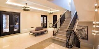 Hallway: classic Corridor, hallway & stairs by KSR Architects
