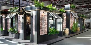90 Fabric Street: Un cóctel de tinta y alcohol: Bares y Clubs de estilo  de Egue y Seta