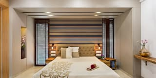 Master Bedroom: modern Bedroom by The design house