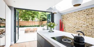 Oliphant Street, Queen's Park : modern Kitchen by Grand Design London Ltd