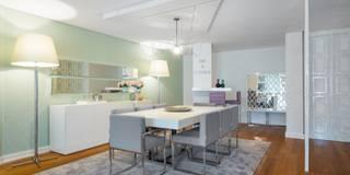 Salas de jantar modernas por Interdesign Interiores