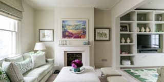 Hillgate Place, Notting Hill: modern Living room by Grand Design London Ltd