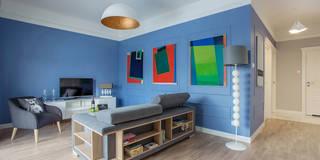 Mieszkanie / Warszawa / Żoliborz: styl , w kategorii Salon zaprojektowany przez Michał Młynarczyk Fotograf Wnętrz