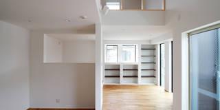 練馬の杜~抜~: 株式会社ハウジングアーキテクト建築設計事務所が手掛けたです。