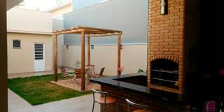 Сады в . Автор – Fávero Arquitetura + Interiores