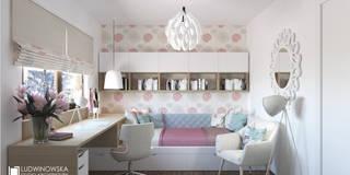 ludwinowska.pl: styl , w kategorii Pokój dziecięcy zaprojektowany przez Ludwinowska Studio Architektury