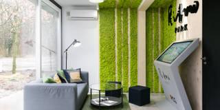 Biuro Sprzedaży Ritmo Park: styl , w kategorii Biurowce zaprojektowany przez Partner Design