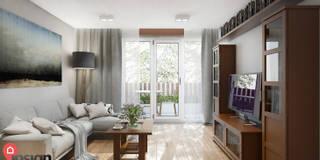 MYS_02: styl , w kategorii Salon zaprojektowany przez InSign Pracownia Projektowa Karolina Wójcik