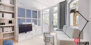 Bt_02: styl , w kategorii Salon zaprojektowany przez InSign Pracownia Projektowa Karolina Wójcik