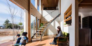 concentration: 建築設計事務所SAI工房が手掛けたリビングです。