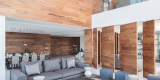 moderne Wohnzimmer von Concepto Taller de Arquitectura