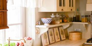SHABBY CHIC DESIGN: Cucina in stile in stile Eclettico di RI-NOVO