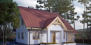 classic Houses by Biuro Projektów MTM Styl - domywstylu.pl