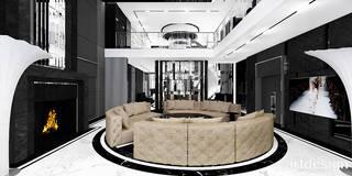 LIKE A MILLION DOLLARS | I | Wnętrza rezydencji : styl , w kategorii Salon zaprojektowany przez ARTDESIGN architektura wnętrz