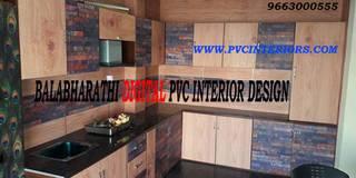 Digital Modular Kitchen In Erode - BalaBharathi 9663000555:   by balabharathi pvc interior design