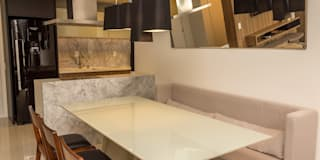 modern Dining room by Geraldo Brognoli Ludwich Arquitetura