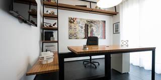 Studio CCdesign: Studio in stile in stile Minimalista di Laboratorio di Progettazione Claudio Criscione Design
