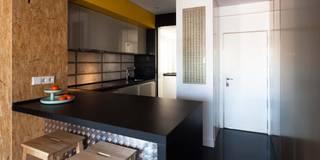Cuisine de style de style Industriel par estudio551
