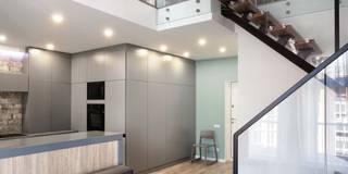 Salon de style de style Minimaliste par MARTINarchitects