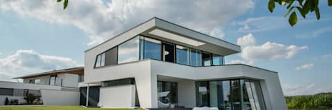 Finest Pultdach Moderne Architektur Moderne Huser Von With Flow Architektur