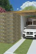 Casas rústicas por Tony Santos Arquitetura