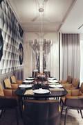 D&N: Столовые комнаты в . Автор – KAPRAN DESIGN (interior workshop)