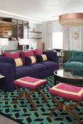 Дизайн-проект , визуализация гостиной: Гостиная в . Автор – Arte-Grup