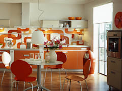 Inken Voss Design: modern tarz Mutfak