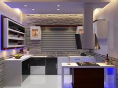 Modern Kitchen: modern Kitchen by Nimble Interiors