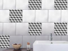 Relooker son carrelage avec des adhésifs pour carrelage damier 3D:  de style  par Wall Sweet Home - Plage SA