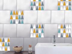Adhésif pour carreaux de carrelage style Scandinave:  de style  par Wall Sweet Home - Plage SA