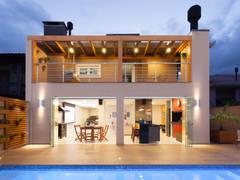 Reforma AM: Casas modernas por ARQ Ana Lore Burliga Miranda