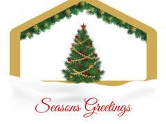 Seasons Greetings from us: Espaços de trabalho  por Simple Taste Interiors