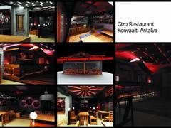 Humay İndeco – Gizo Restaurant Projesi:  tarz Yeme & İçme