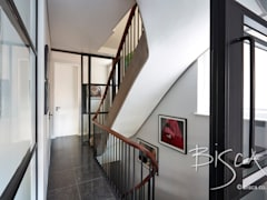 Architect staircase London: modern Corridor, hallway & stairs by Bisca Staircases