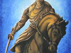 Chhatrapati Shivaji:   by Indian Art Ideas
