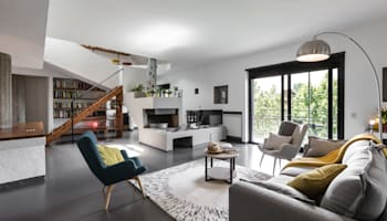 Casa MC - Relooking: Современный стиль Гостиная от Architrek