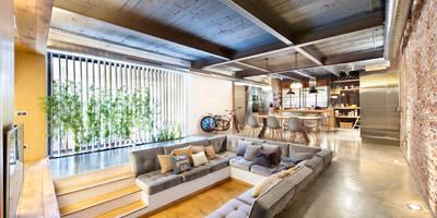 rustikale Wohnzimmer von Egue y Seta