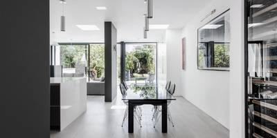 Comedores de estilo moderno de AR Design Studio