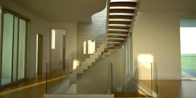 de estilo  por Siller Treppen/Stairs/Scale