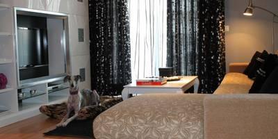 moderne Wohnzimmer von Ámbar Muebles