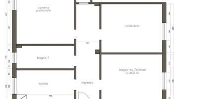 Arredi scultorei per un appartamento a Milano: Case in stile in stile Moderno di CAFElab studio