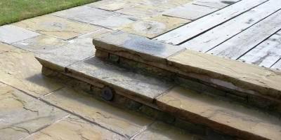 Decking Steps: modern Garden by Inspired Garden Design