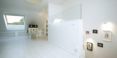 modern Nursery/kid's room by Arquitectos Madrid 2.0