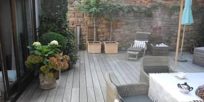 kleiner Garten ganz Groß:   von freiraumgestalter.com