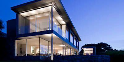 Casas de estilo moderno de JAMIE FALLA ARCHITECTURE