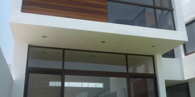 Casa DV: Casas de estilo moderno por ze arquitectura