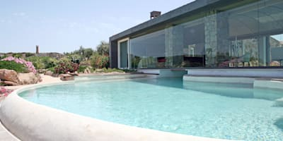 de estilo  por Studio di Architettura di Luca Scacchetti -