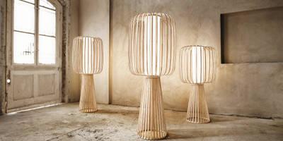 MOOLIN Bambusleuchte:   von lasfera GmbH & Co. KG